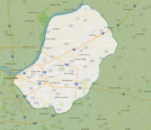Mobile Vet Louisville Service Areas
